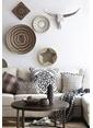 Warm Design El Dokuması Duvar Sepeti Renkli